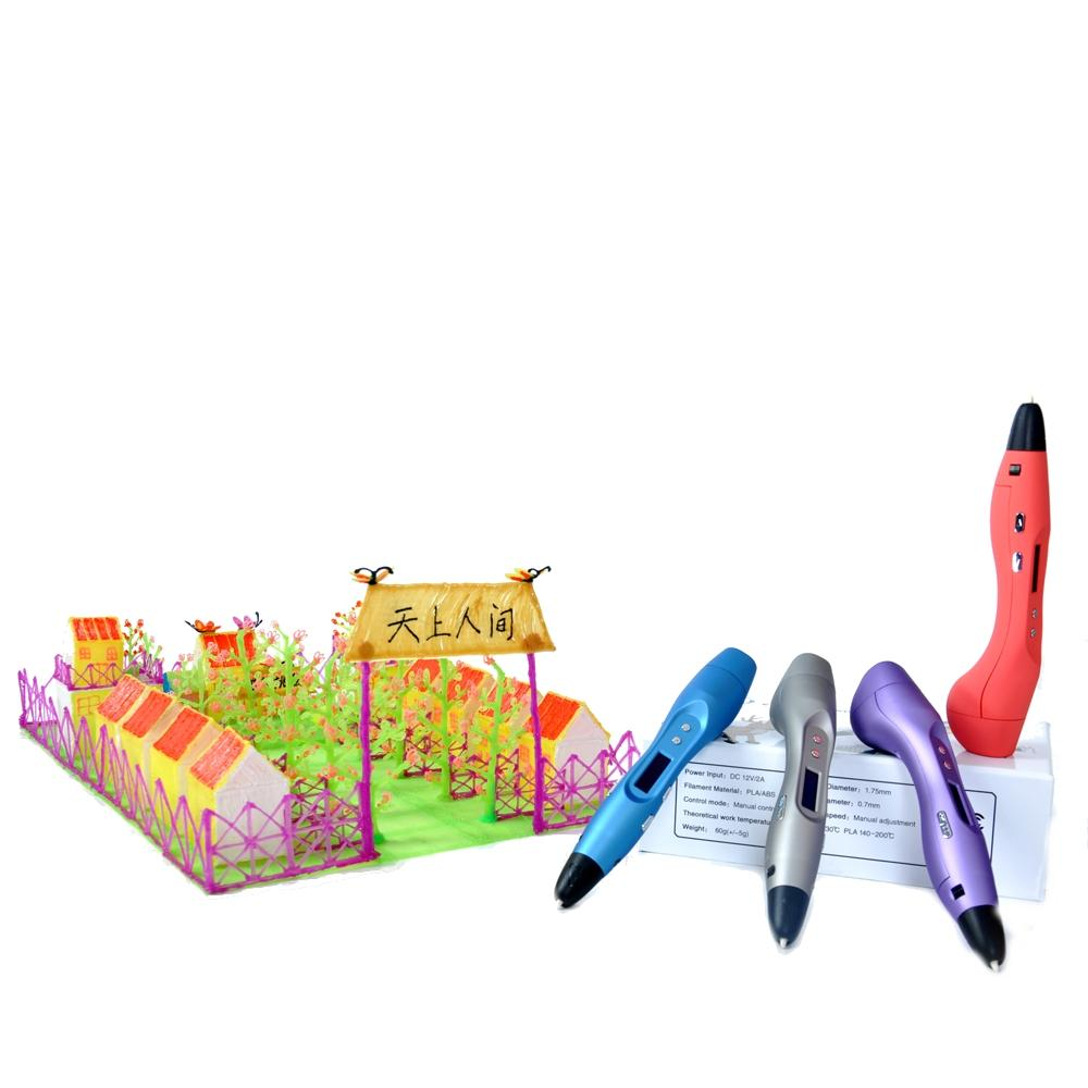 What are 3D printing pens?