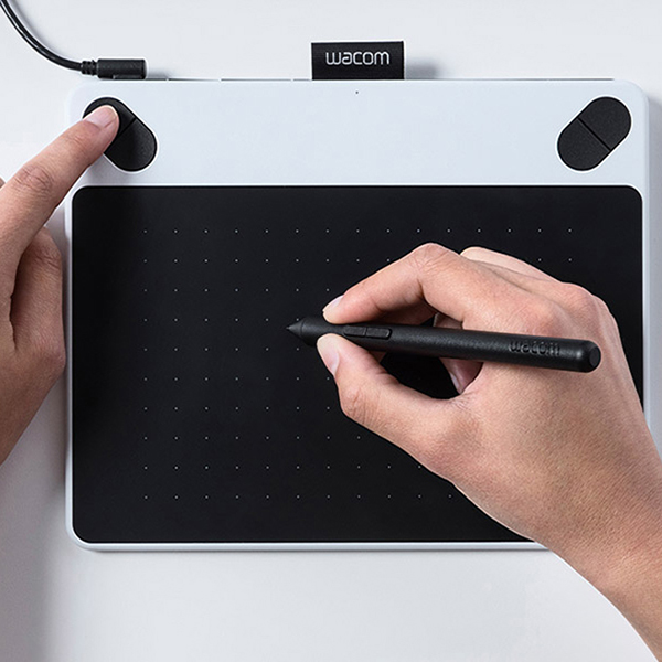 physical size drawing tablet