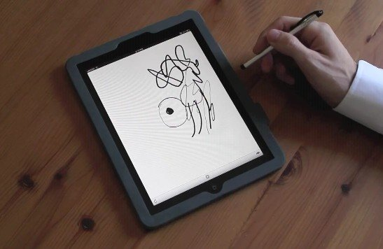 pressure drawing tablet