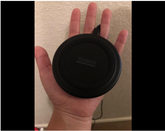 Hand wireless charger