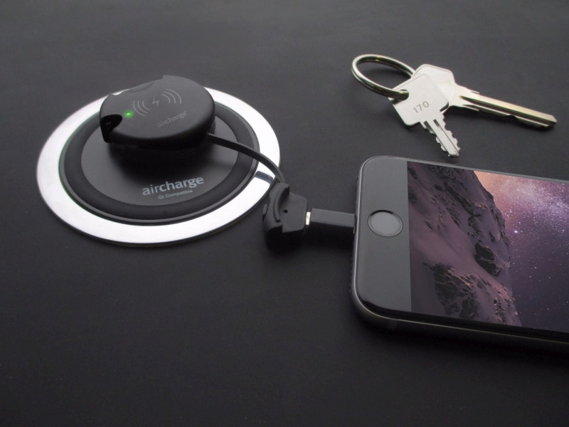 Aircharge dual wireless charger