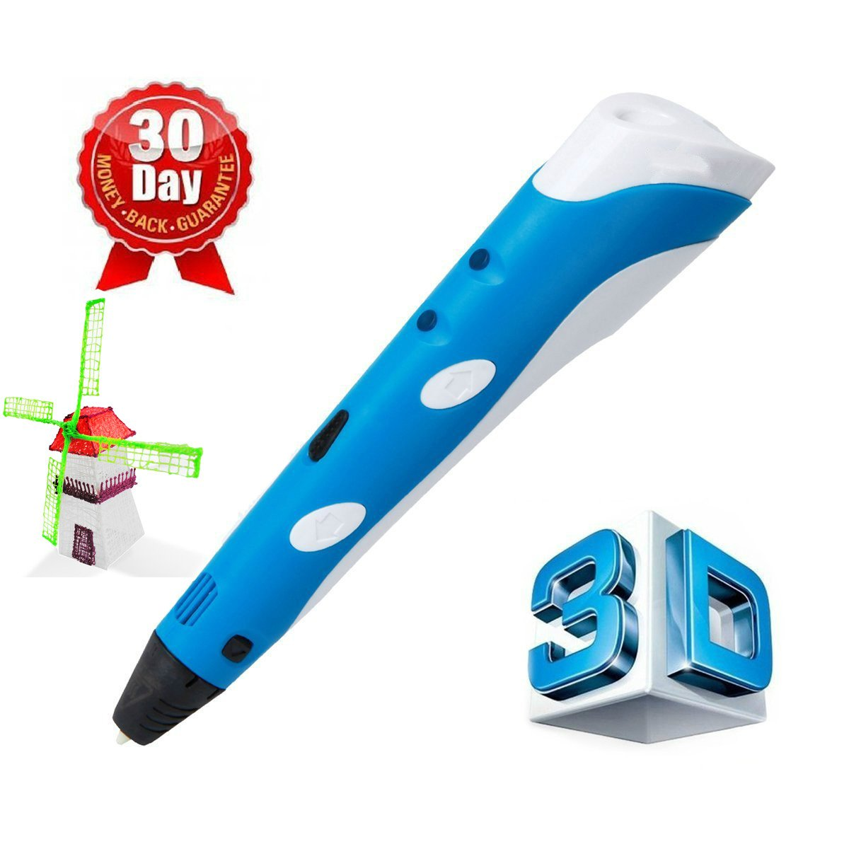 Glyby Intelligent 3D printing pen