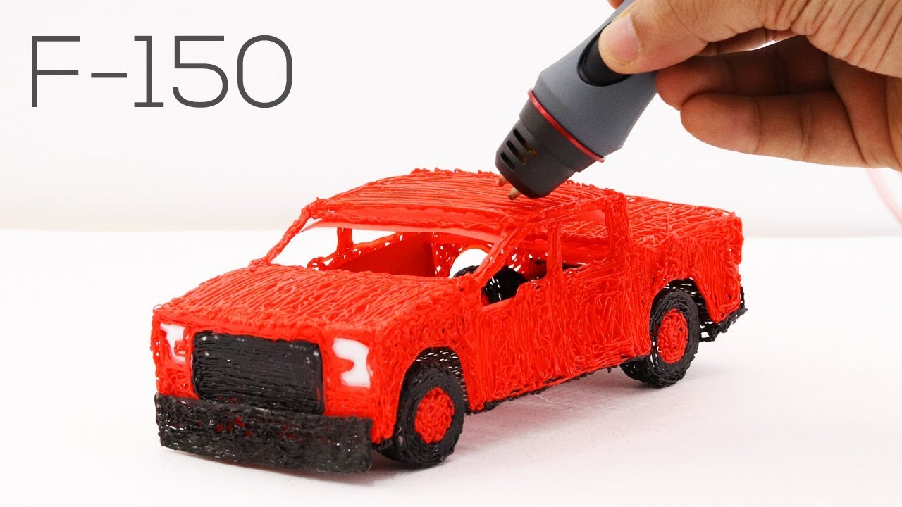 How does 3D printing pen work?