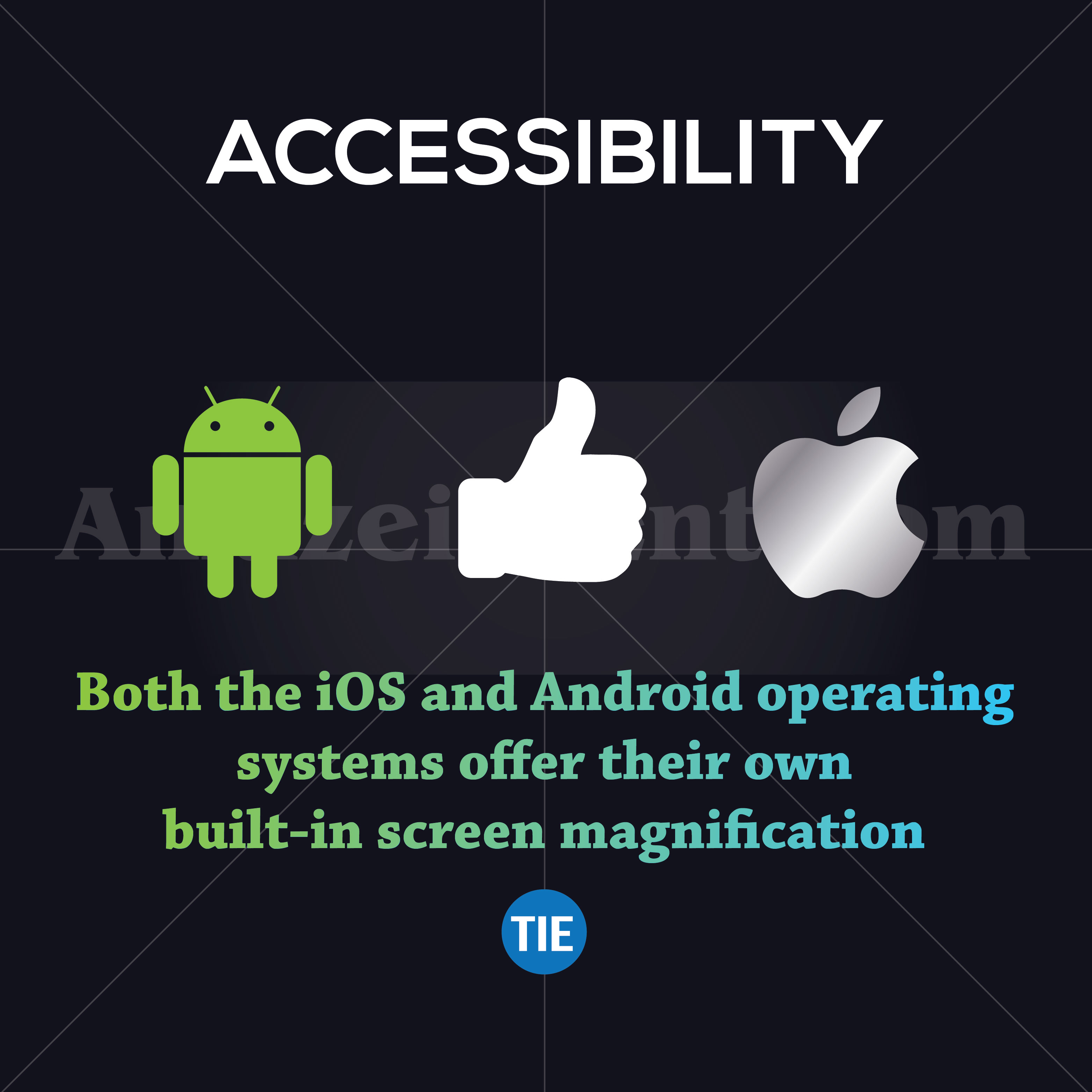 android vs ios accessibility