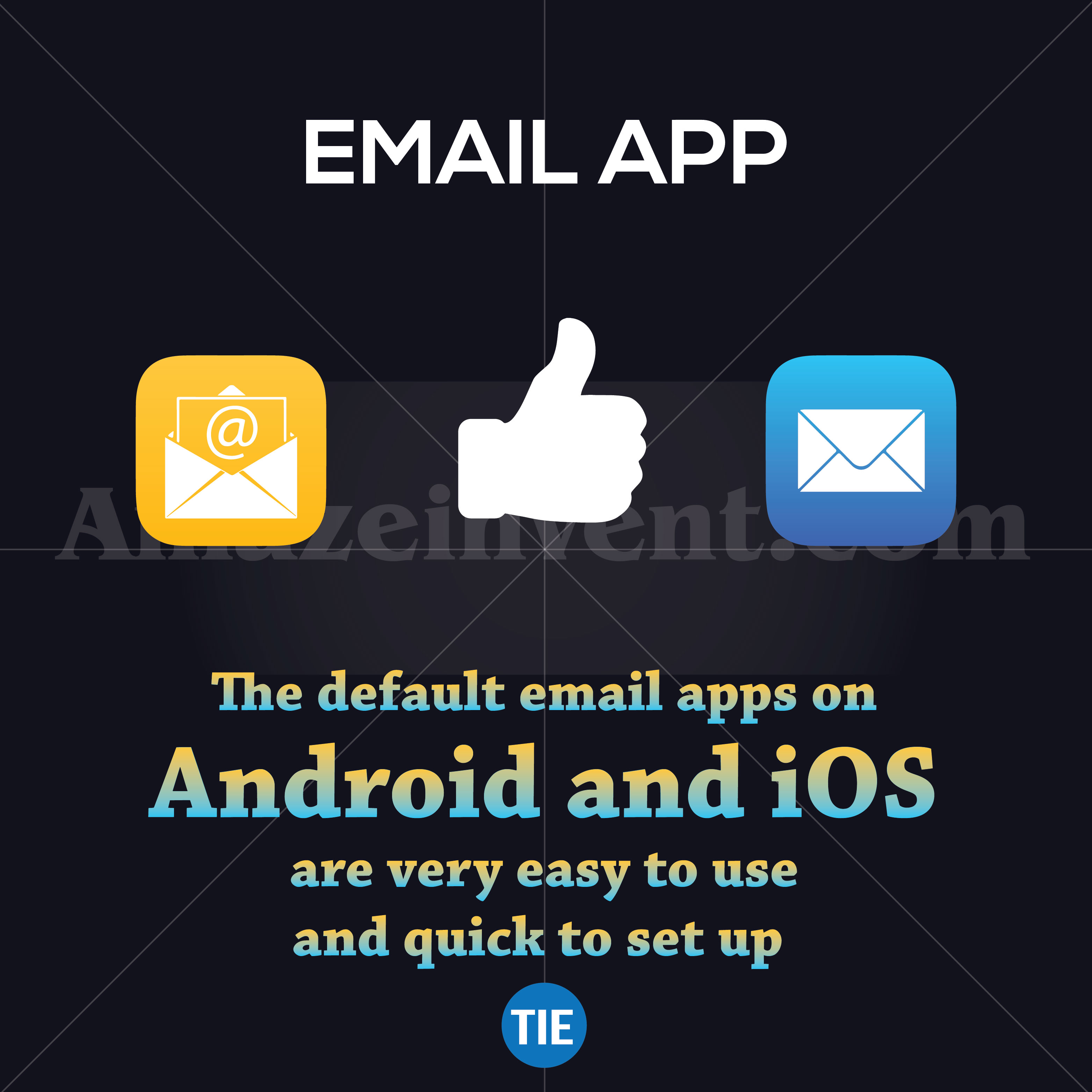 android vs ios email