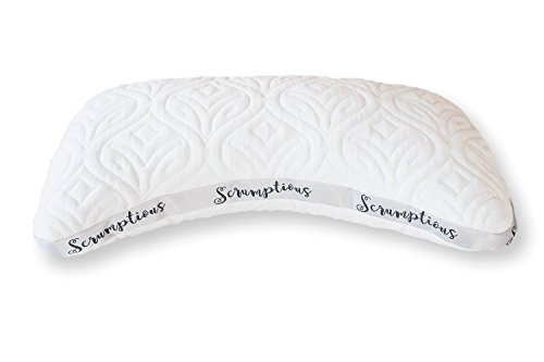 The Scrumptious Side Sleeper Pillow from Drift (Honeydew Sleep Company)
