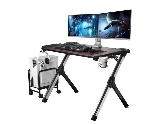 Invicta Black Gaming Desk