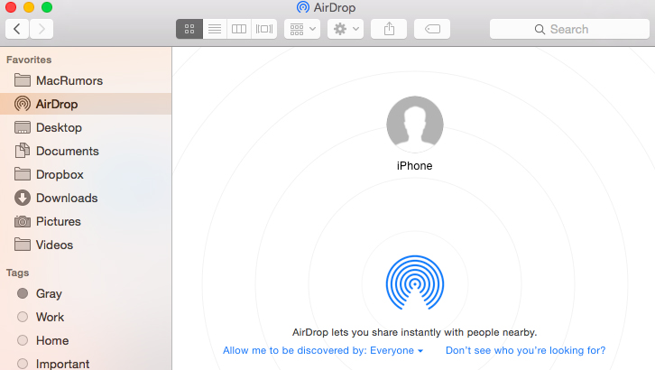 How does Airdrop work?