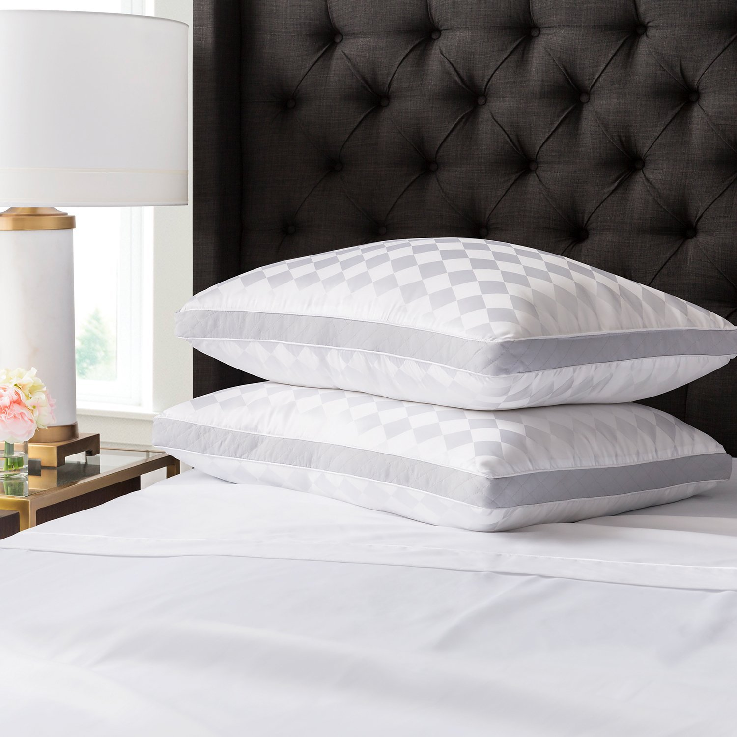 Beckham Hotel Collection Gusset Gel Pillow