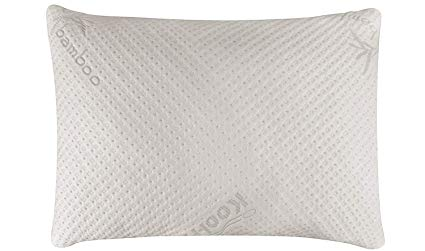 Cuddle Pedic Ultra-Luxury Bamboo Shredded Memory Foam Pillow