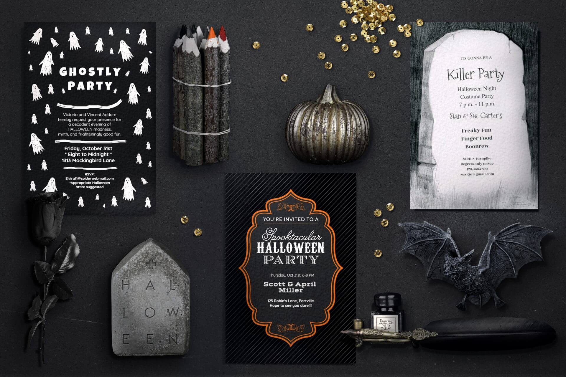 Beguiling Halloween by Punchbowl by 123 Greetings