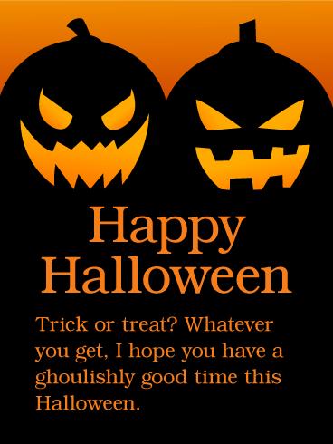 Cheerful Halloween, Ghoul companion!