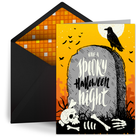 Creepy Graveyard by Punchbowl
