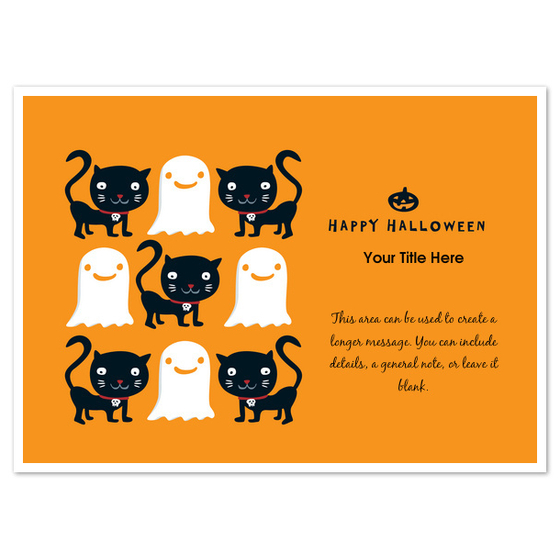 Dark Cats and Ghosts by Chickengirl Design