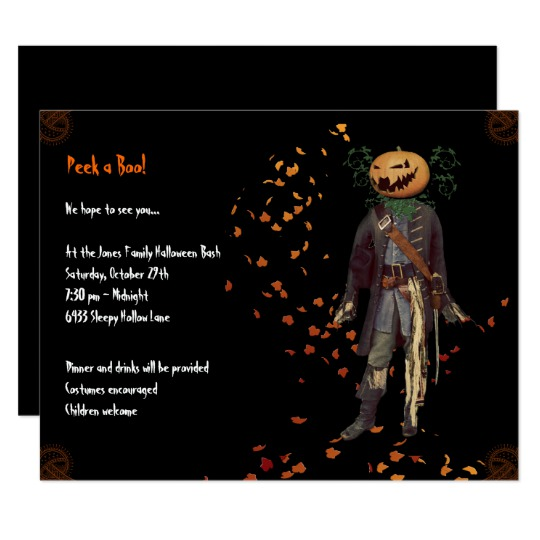 Halloween Bash Invitation from Charming Ink