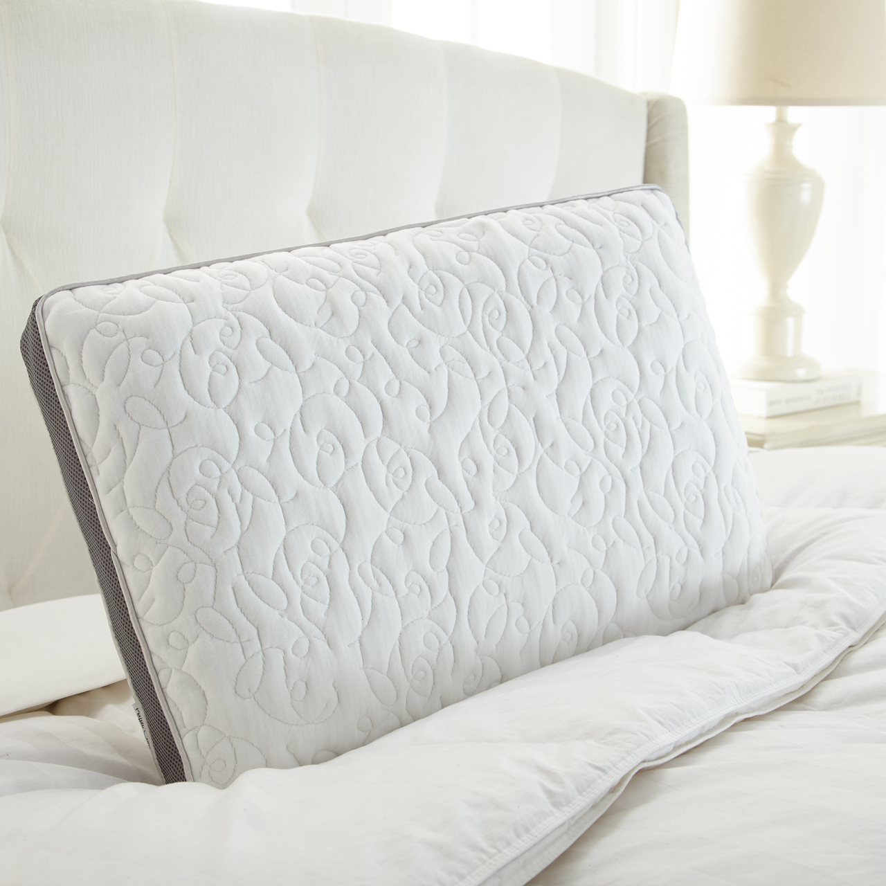 Twofold Airflow Memory Foam Pillow by Perfect Cloud