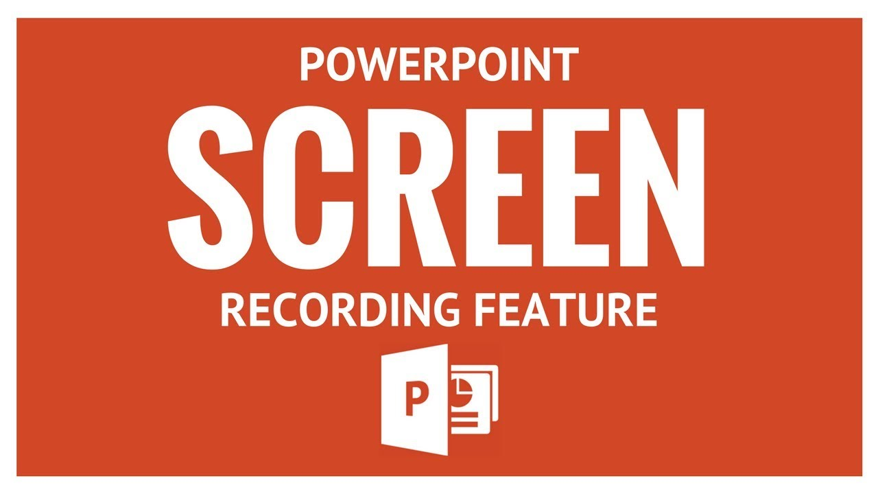 PPT Screen Recording
