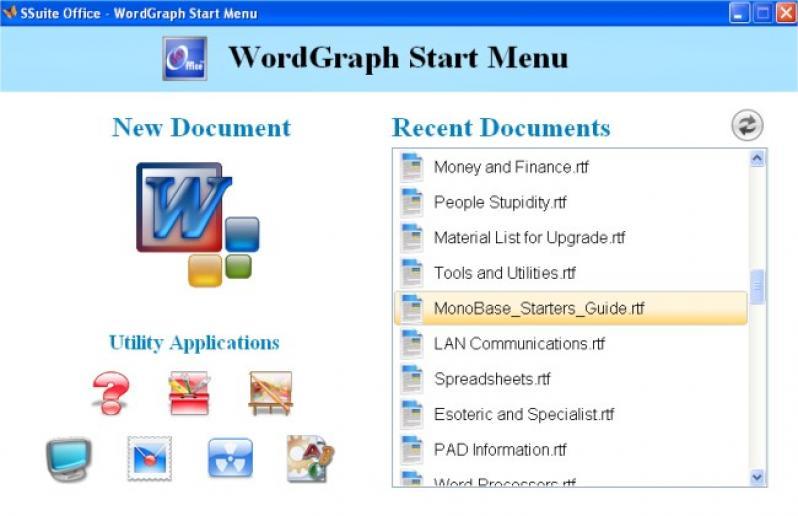 SSuite WordGraph