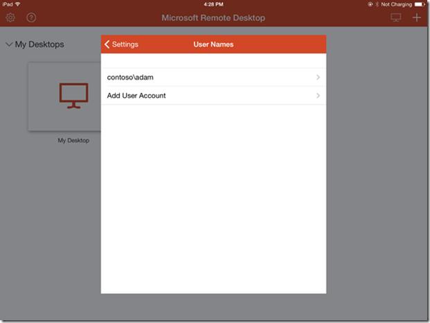 Microsoft Remote Desktop users