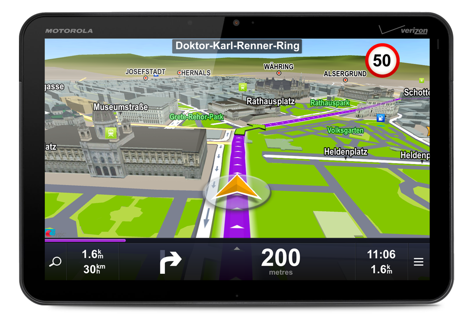Commercial vehicle GPS Apps