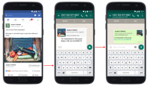 How to Send a Picture/Message from Facebook to WhatsApp