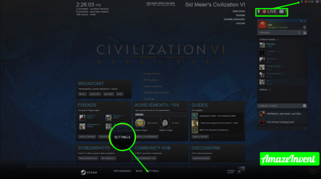 008 how to broadcast steam 4587132 e65f86ca62ca4e1c94d9419df2682e3d jpg 1920×1080 640x356 1 - How to Hide Games on Steam?