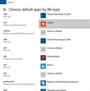 Change What Program Opens File Windows 10