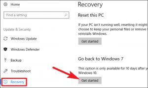 Downgrade From Windows 10 To Windows 7