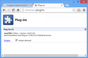 How to Enable Java on Chrome