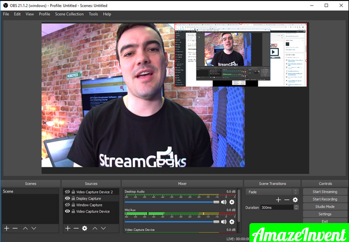 OBS with OBS guy jpg 700×484 1 1 - How To Add a Camera to Obs?