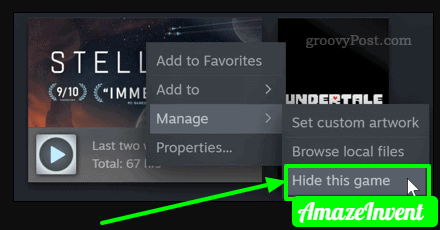 hidesteam hidethisgame png 421×190  - How to Hide Games on Steam?