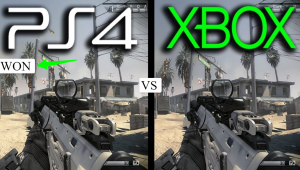 Xbox One VS PS4 Exclusives graphics
