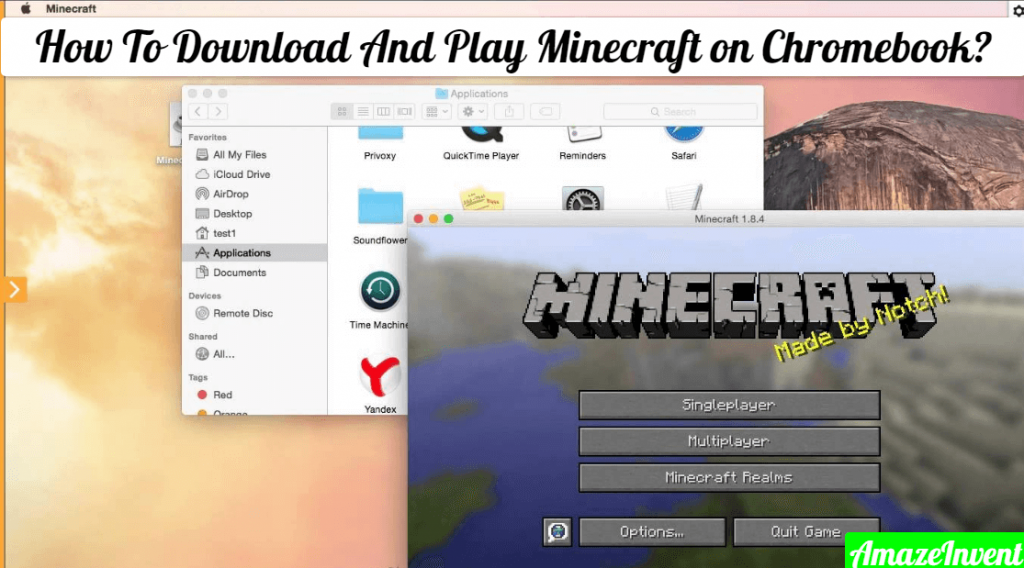 How To Download And Play Minecraft on Chromebook? AmazeInvent