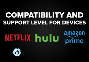 Compatibility and Support level for Devices - Netflix vs. Hulu vs. Amazon