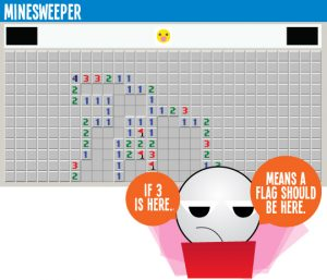 how to play minesweeper on google