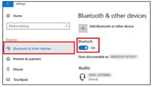 Connect Bluetooth Headphones to Windows 10
