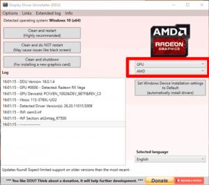 Update AMD Drivers