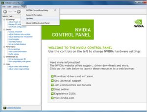 Update Nvidia Graphics Card Drivers