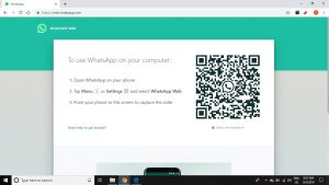 Use WhatsApp on a Desktop PC or Tablet