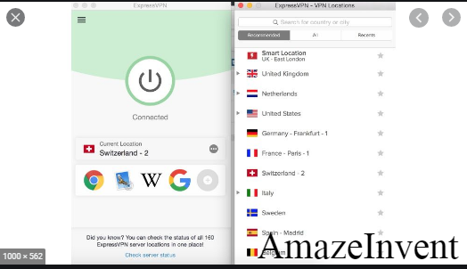 Change your IP Country with a VPN