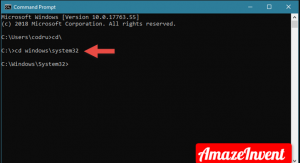 By using Windows Command Prompt