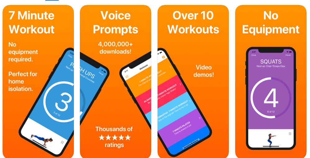 Best Home Workout Android Apps