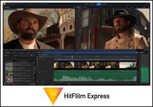 Hitflilm express screenshot