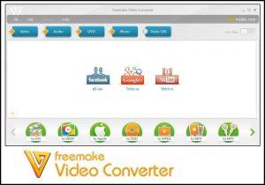 Freemake video converter screnshot