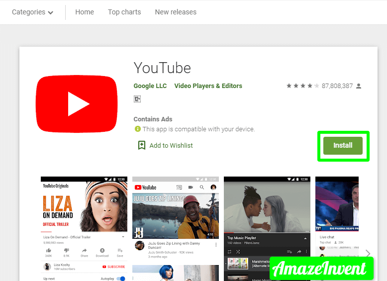 Download the YouTube App to My Computer