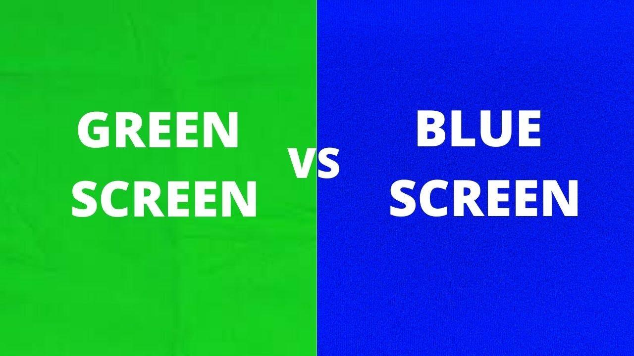 Green Screen vs Blue Screen