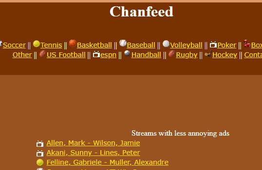 Chanfeed
