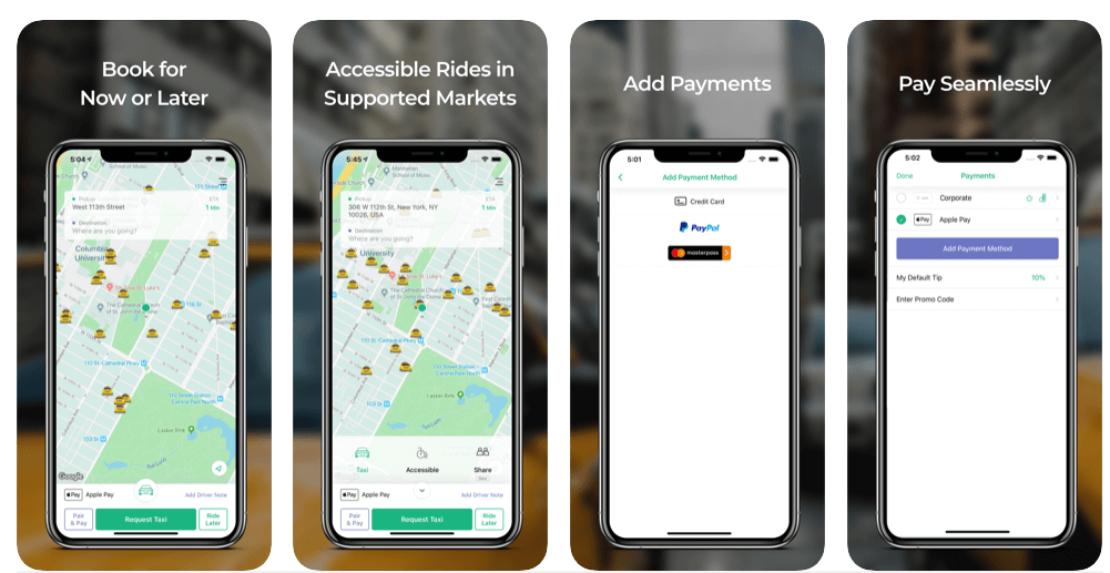Ride Sharing Apps
