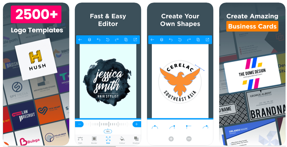 Logo Maker Apps for iPhone