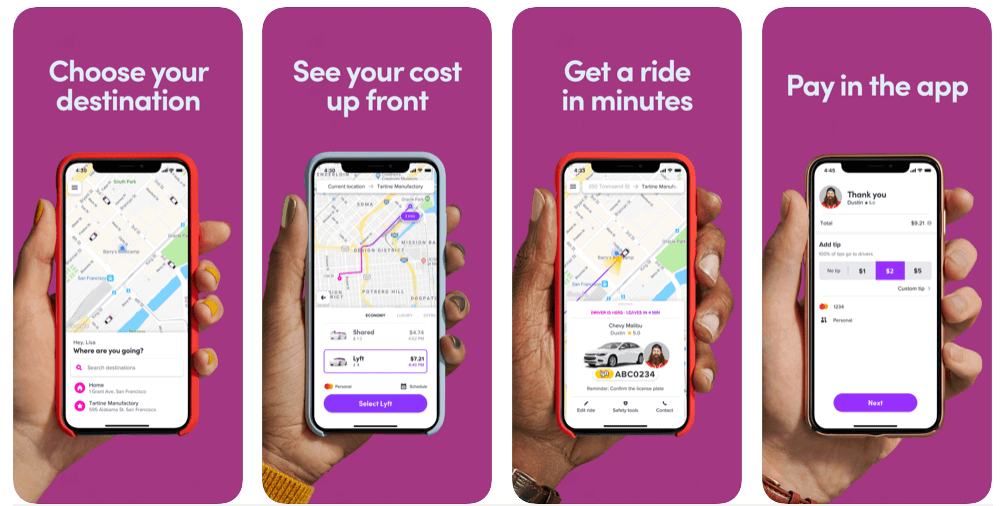Ride Sharing iOS Apps